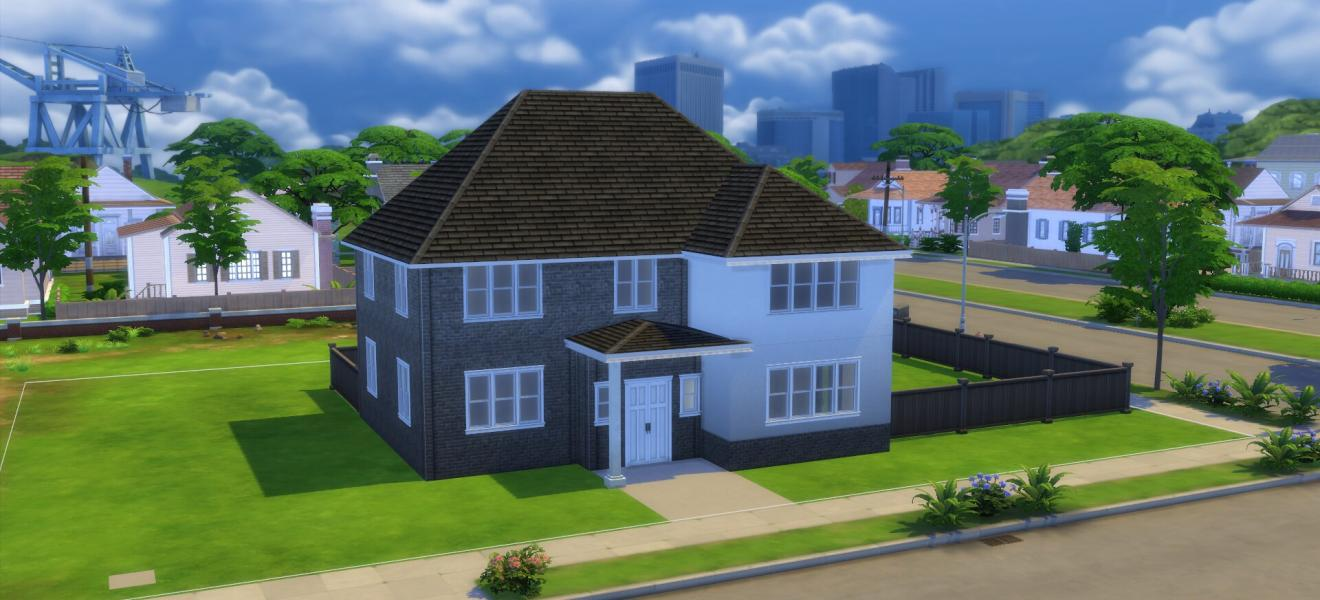 A Sims recreation of The Shaftesbury