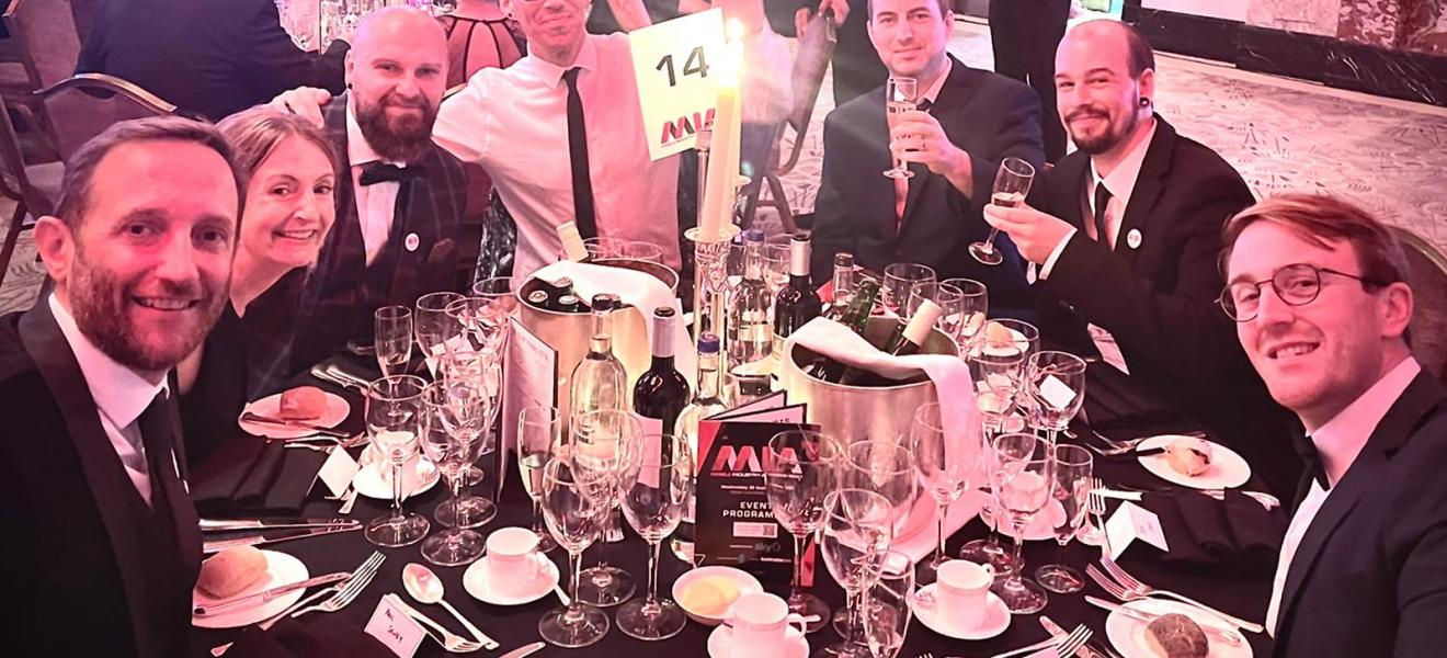 The ilab Barnstaple runner up UK's Best Repair Service at the Mobile Industry Awards