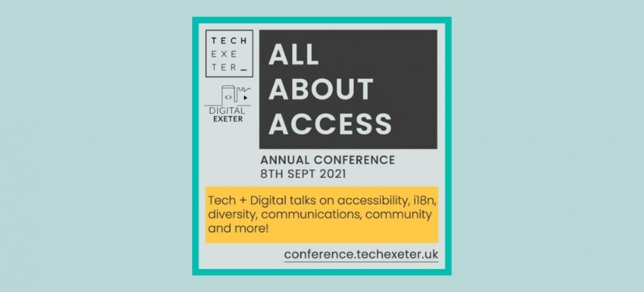The Tech Exeter Conference logo image