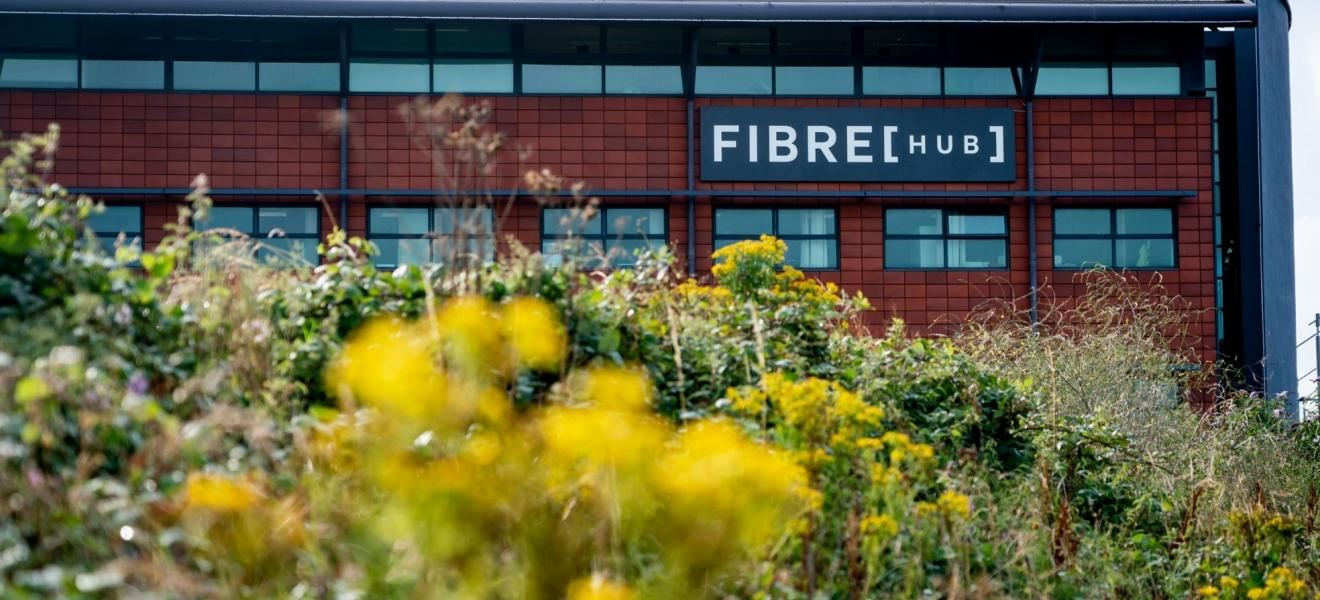 The new FibreHub building in Cornwall