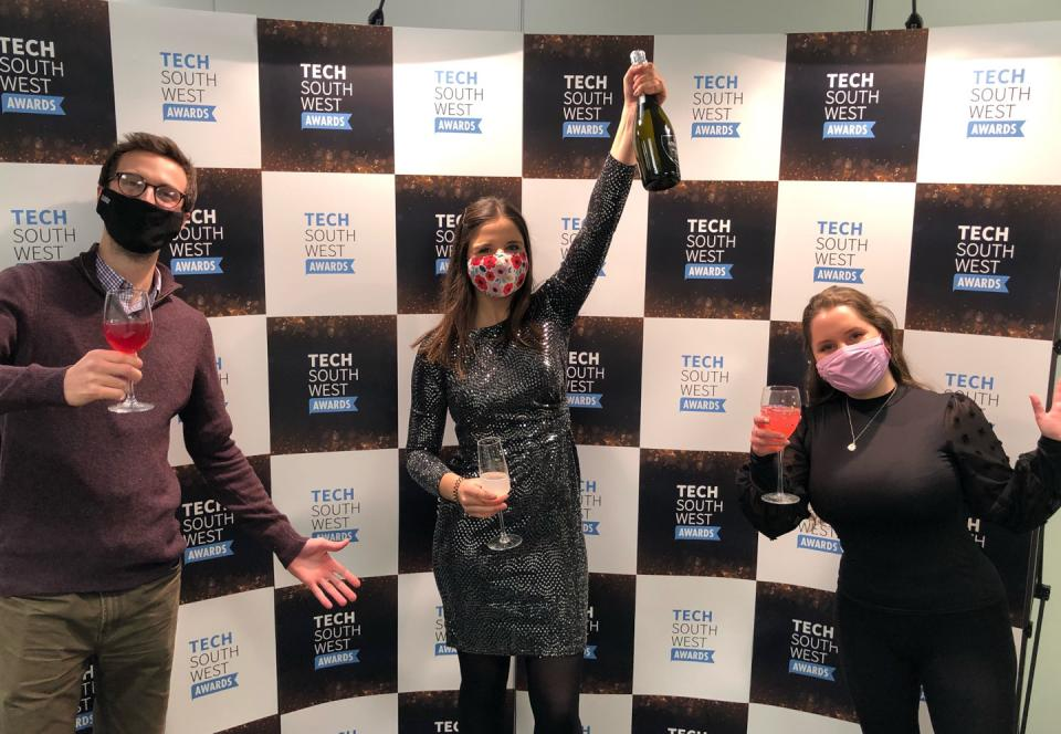 Tech South West awards for 2020 photograph