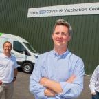 Jurassic Fibre vaccination centre