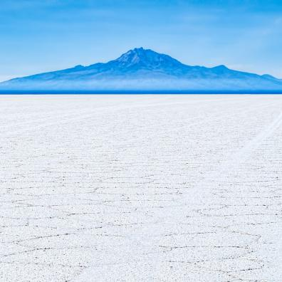The Uyuni Salt Flat, home to an estimated 17% of the world's lithium