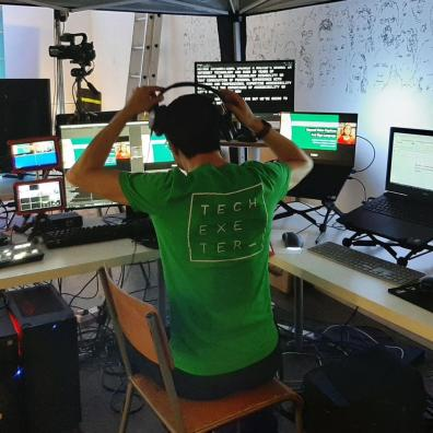 Behind the scenes at Tech Exeter conference