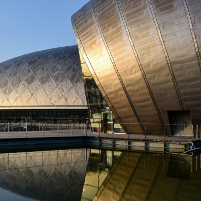 Glasgow Science Centre, where the COP26 summit will be held