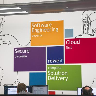 The Rowe IT office at Plymouth Science Park